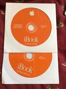 Apple OS 9.04 install/restore set for FireWire Clamshell iBooks