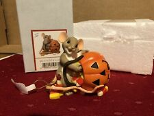 "Charming Tails ""You'Re So Full Of Sweetness"" Dean Griff Nib Halloween"
