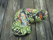 Woody Car Surfing Theme Blade Putter Golf Club Head Cover Black Green Red Blue C