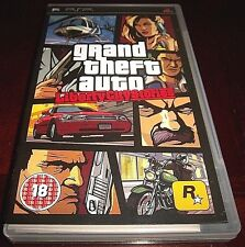 [PAL] Grand Theft Auto: Liberty City Stories (ORIGINAL BLACK LABEL NEW OPEN BOX)