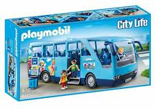 Playmobil City Life 9117. Autobús escolar FunPark. De 4 a 10 años