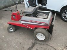 LAWNFLITE 504 RIDE ON MOWER SIT ON SPARES REPAIR RUNS PETROL BRIGGS AND STRATTON