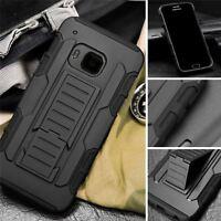 Coque Housse Etui Rigide Silicone Armor Anti Choc Pour HTC M7 M8 M8S M9 M10