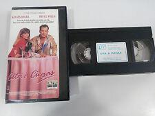 CITA A CIEGAS TAPE VHS CINTA COLECCIONISTA BRUCE WILLIS KIM BASINGER