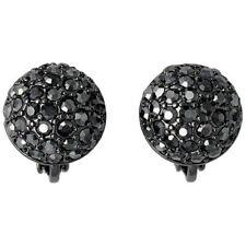 Mode-Ohrschmuck aus Edelstahl mit Kristall Clips