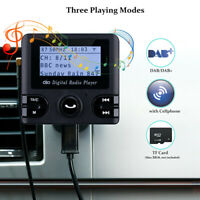 Protable Car DAB/DAB+ Digital Radio Adapter MP3 Player FM Transmitter Handfree