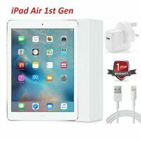 Apple iPad Air Retina Display 1st Gen White 16GB Wi-Fi 9.7in Unlocked iOS 12+ UK