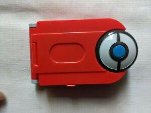 POKEMON POKEDEX RED HANDHELD ELECTRONIC GAME - bandai 2004 M