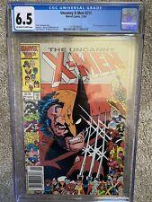 Uncanny X-men #211 CGC 🔑 KEY 1st Appearance of Marauders Claremont & Romita Jr