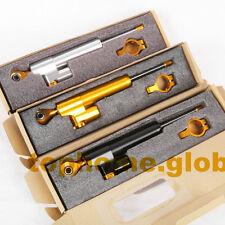 CNC Steering Damper Stabilizer Linear Reversed Safety Control Black/Gold/Silver