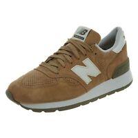 New Balance Mens 990 Classic Running Shoes Hemp/Angora M990-CER