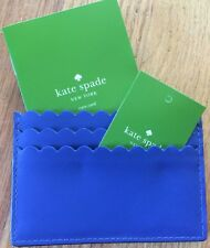 NWT Kate Spade New York  Maple Court Hyacinth Blue Credit Card Case