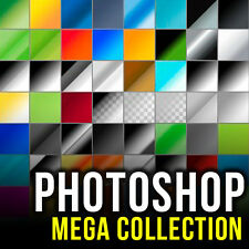 PHOTOSHOP (CS,CS2, CS3,CS4, CS5, CS6, CC) MEGA GRAPHIC DESIGN PACK