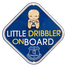 Everton FC Official Little dribbler on board