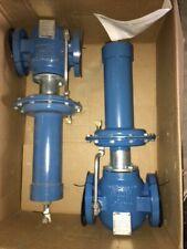 """2 NEW FMC INVALCO RDFG-201-510 BACK PRESSURE VALVE 2"""" DUCTILE BODY qty 2 valves"""