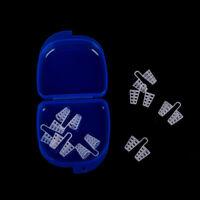 8x silicone anti snore nasal dilators apnea aid device stop snoring nose clip_QA