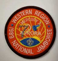 Boy Scout 1989 National Jamboree Western Region MERCURY 7 Patch
