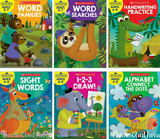 Little Skill Seekers Ages 4-7 Word Families,Word Search,Draw++ FREE shipping $35
