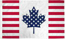 USA & Canada Friendship 3x5ft Poly Flag - America and Canada