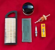BRIGGS ENGINE SERVICE KIT-  GENUINE 698083 AIR FILTER, OIL & FUEL FILTERS, PLUG