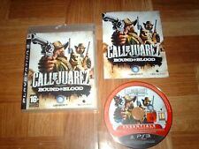 CALL OF JUAREZ...bound in blood...jeu complet...sur PS3