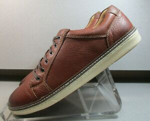 253610 MS50 MCGUFFY LACE TO TOE JOHNSTON & MURPHY MENS SHOE 9.5 LEATHER