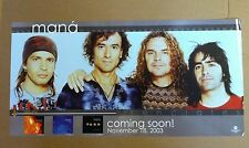 MANA 2003 Retail PROMO POSTER for Esenciales CD USA 12x24 NEVER DISPLAYED
