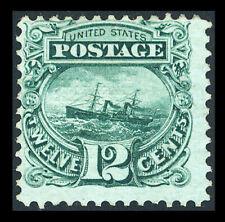 US #117; 12¢ PICTORIAL ADRIATIC ISSUE, FINE-UNUSED-LH, FRESH, CV $725