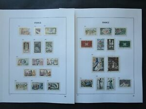 ESTATE: France Collection on Pages, Great Item! (p9120)