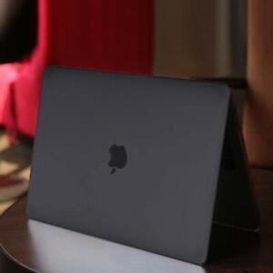 """Fit Apple MacBook Air 11/PRO 13 /15/16 12"""" Matte Black Laptop Shell Case Cover"""
