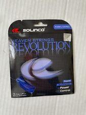 Solinco Heaven Strings Revolution Power & Control 16L Gauge 1.25 mm Blue One set