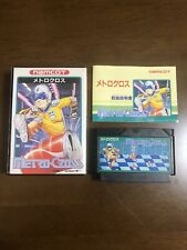 Game soft Famicom 『METRO CROSS』Box and with an instructions from Japan⑦