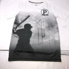 MLB Pittsburgh Pirates Boys Shadow Youth T-Shirt Size M