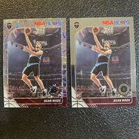 2019-20 NBA Hoops Premium Stock Dean Wade Lot LASER Prizm- RC - #256 Cavaliers
