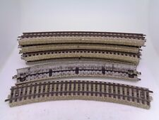 Vintage Marklin HO Gauge 5200 curved tracks - set of 10