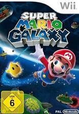 Nintendo Wii + Wii U Super Mario Galaxy tedesco completo guterzust.