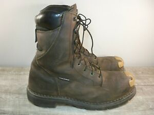 Red Wing 2211 Men's Gambler Leather 600G Supersole Work Steel Toe Boots Size 12