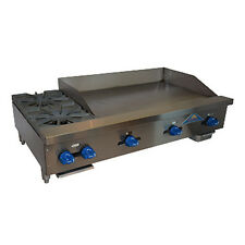 """Comstock Castle Fhp48-36 48"""" Gas Countertop Griddle/Hotplate"""