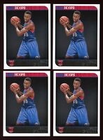 (LOT x 4) 2014-15 Panini NBA Hoops Jerami Grant RC 76ers Rookie Card Investor
