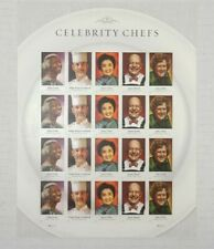 Celebrity Chefs 2014 / #4922 - #4926 / Forever Stamps Sheet of MNH