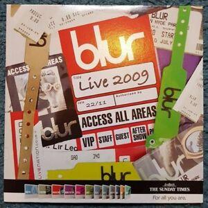 Blur live 2009 CD Sunday Times Promo