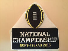 2015 VIP BCS National Championship Inaugural Logo Patch - NEW!!!