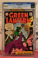 Green Lantern #57 CGC 8.5 Major Disaster Appearance 1967 Gil Kane Cover/Art