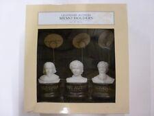 3 Legendary Memo Holders Set (Charles Dickens/Wm Shakespeare/Jane Austen) 7C