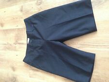 boys age 14 Hugo Boss blue wool bl tailored shorts good condition 100% authentic