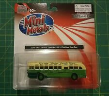 CMW Mini Metals GMC TDH-3610 Old Look Bus - NYC 72 St Crosstown