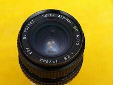 Super Albinar MC Auto 2,8/28mm Objektiv, Minolta Anschluss,  guter Zustand