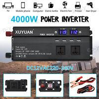 5000W Car Power Inverter DC 12V to AC 220V Sine Wave Converter With LED Display