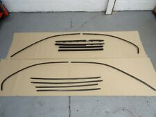 BMW E39 Saloon M Sport Black Matt Shadow Line Window Trim Set #077