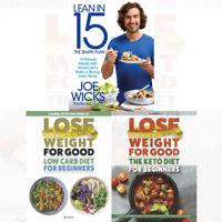 Joe Wicks Shape Plan Lean in 15 Recipes Lean Body 3 Books Collection Set NEW